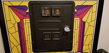 Vintage Arachnid English Mark Electronic Dart Board power coin door .