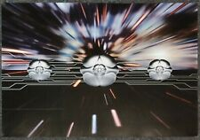 The Orb & David Gilmour Metallic Spheres 2010 Double-Sided Promo Poster