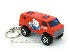 Custom Keychain 4x4 Chevy Van Coca Cola Red