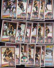 1984 OPC Team LOT of 19 Vancouver CANUCKS NM/MT o-pee-chee TANTI SMYL McNAB ROTA