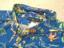 Polo Ralph Lauren Cotton Long Sleeve Tropical Print Sport Shirt NWT 2XB $165