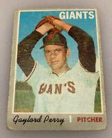1970 Topps Baseball Card Gaylord Perry # 560 HOF