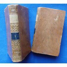 BEAUTÉS et MERVEILLES du CHRISTIANISME par P.-J.-B. NOUGARE Illustré 1820 T1 &T2