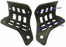 Kazuma Falcon ATV Left And Right Foot Well Guard Set Black
