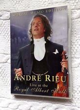 ANDRE RIEU: LIVE AT THE ROYAL ALBERT HALL (DVD) R-ALL, LIKE NEW, FREE POSTAGE