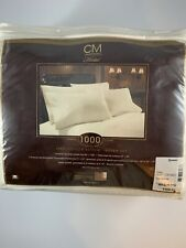 Chris Madden Hotel 1000 Count Queen set sheets