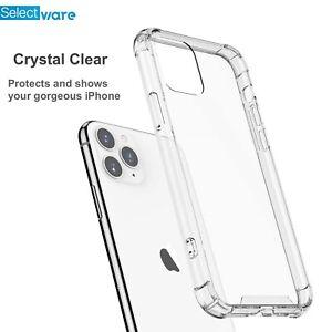 iPhone 11 Pro Shockproof Bumper Case Gorilla Silicone Soft Edge Clear TPU Cover