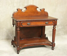 H1152 : American Victorian Antique East Lake Side Table Console Vanity