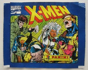 ORIGINAL VINTAGE UNOPENED STICKER PACK WRAPPER PACKET X-MEN 1994 MARVEL PANINI