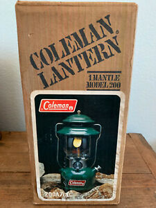 Coleman lantern 200a 700 New In Box (sealed)
