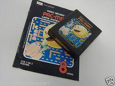 Atari 2600 Game Pac Man with Manual SEARS Atari 2600 Game System