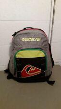 Quiksilver Mens New School Backpack Bookbag~Retail $44.00