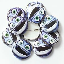 Wholesale 25mm Badges Official Crazy Frog Face