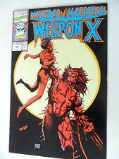 1 x estados unidos cómic-Weapon X-nº 76-inglés-Marvel-z1