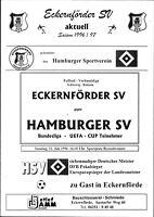 21.07.1996 Eckernförder SV - Hamburger SV