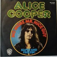 "ALICE COOPER⚠️Unplayed⚠️1973-7""-No more Mr.Nice Guy/Raped and..-WB 16262-Germany"