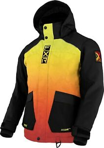 2021 FXR CHILD YOUTH KIDS KICKER INFERNO Winter JACKET - 2 - 4 - 6 - 10  -New