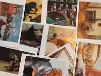 NEW Packs of ART Postcards Ideal for Postcrossing, all different VERY POPULAR