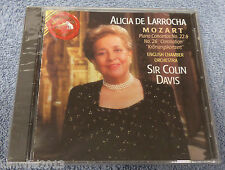Alicia De Larrocha - Mozart Piano Concertos No 22 & 26 (RCA Red Seal CD NEW)
