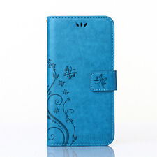 For iPhone X 8 6 6S 7 Plus Case Leather Magnetic Flip Wallet Cards Holder Cover