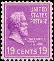 Scott#: 824 - Rutherford B. Hayes Single Stamp MNH OG