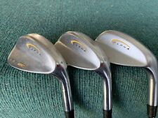 ALPHA PF-2C Golf Wedge Set - RH, 48/52/56, Stiff Steel - Silky Smooth, NICE!