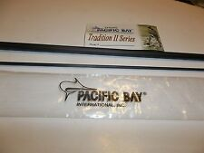 Pacific Bay Tradition Ii Fly Blank 10' 5 wt 3 pc Matte Grey Im6 Graphite