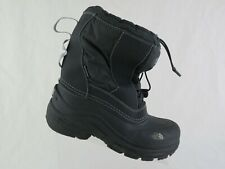 THE NORTH FACE Black Sz 6 Kids Insulated Snow Winter Boots