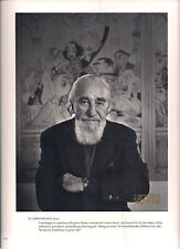 BROADWAY Caricaturist AL HIRSCHFELD Signed Book Photograph by Yousuf Karsh