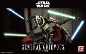Bandai Hobby Star Wars 1/12 Plastic Model Kit General Grievous star wars