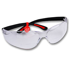 FastCap Magnifying Bifocal Safety Glasses 3.0 Diopter