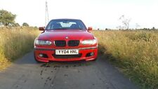 BMW E46 330i M Sport 2004 4dr Imola Red 6sp Manual rare spec M3