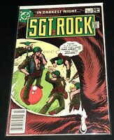 ☆☆ Sgt. Rock #354  ☆☆ (DC) Joe Kubert Art - FREE Shipping