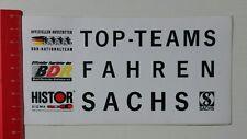 Aufkleber/Sticker: Top-Teams Fahren Sachs - BDR - Histor Sigma (15021766)