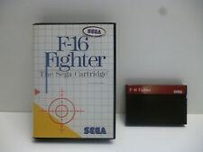 ♠ Jeu F-16 FIGHTER Console SEGA Master System 1 Trés Bon État ♠