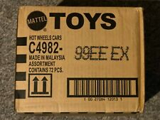 Hot Wheels 72 car Count case Worldwide C4982 99EE EX E Case Sealed New