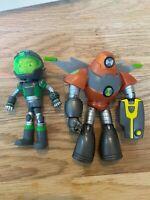 Ben10 Omni-Naut Armor Heatblast & Ben 10 Space Armor Ben action Figure