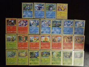 2021 Pokémon 25th Anniversary McDonald's Promo Complete Set (25 Cards Non-Holo)