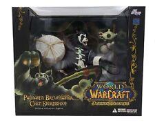 New World Of Warcraft Pandaren Brewmaster Chen Stormstout Deluxe Action Figure