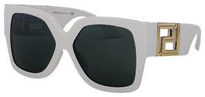 Versace Sunglasses VE 4402 314/87 59 White   Dark Grey Lens