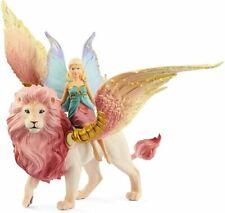 Schleich Bayala - Fairy in Flight on Winged Lion Sc70714