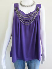 AUTOGRAPH Top Size 18 Purple Sleeveless BUY 4 or more items for FREE