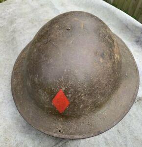 WW1 British Brodie Steel Helmet - Miris Steel Sheffield - With Liner