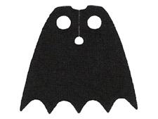 LEGO® Batman™ Black Batman Cape - New Spongy Fabric