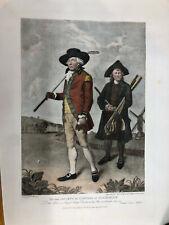 Vtg Soceity of Coffers at Blackheath Engraving Mezzotint Golf Print L.Abbott