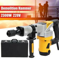 2300W Electric Demolition Hammer Breaker Jack Drill Concrete Hammer Power Tool