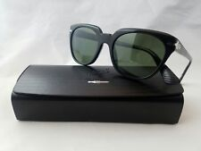 cac82a5bc61 PERSOL 3111-S 95 31 GLOSSBLACK GREEN LENS SUNGLASS MADE IN ITALY