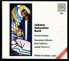 Bach - Chorale Preludes - Neumeister, Rinck & Leipzig - Wilhelm Krumbach - Organ