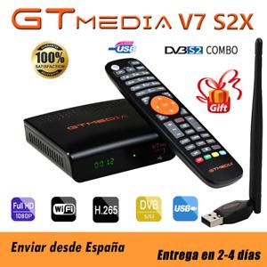 GTMedia V7 S2X DVB-S2/S2X Satellite Receiver + USB WiFi Full HD 1080P
