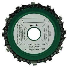 Disco taglio legno CIDES per smerigliatrice 115 mm. (con catena motosega) flex